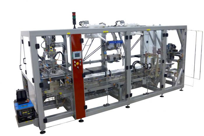 CR-201 Top loading robotic case packer