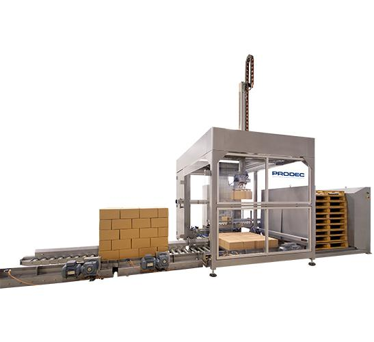 S-120 automatic input output Cartesian palletizer 1