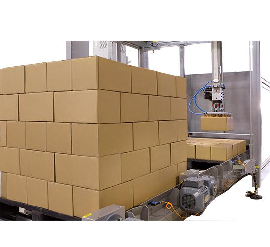 S-120 automatic input output Cartesian palletizer 3