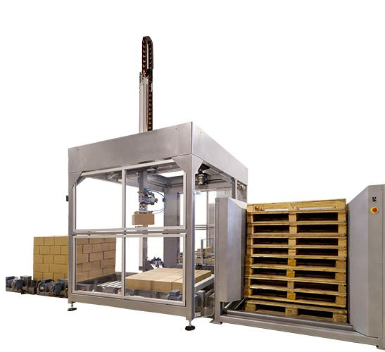 S-120 automatic input output Cartesian palletizer 2